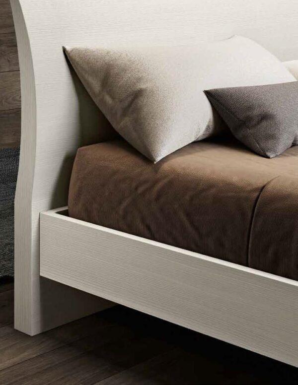 testiera letto larice bianco mobilificio torino e rivoli