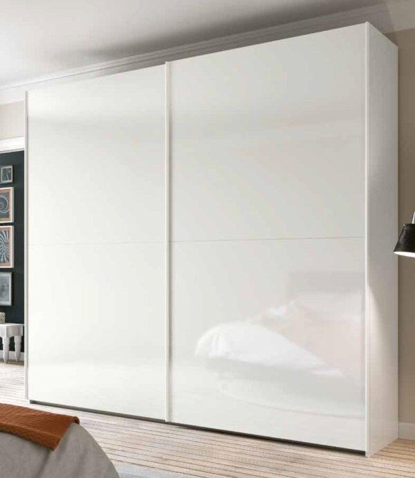 armadio laccato bianco 2 ante scorrevoli mobilificio torino e rivoli