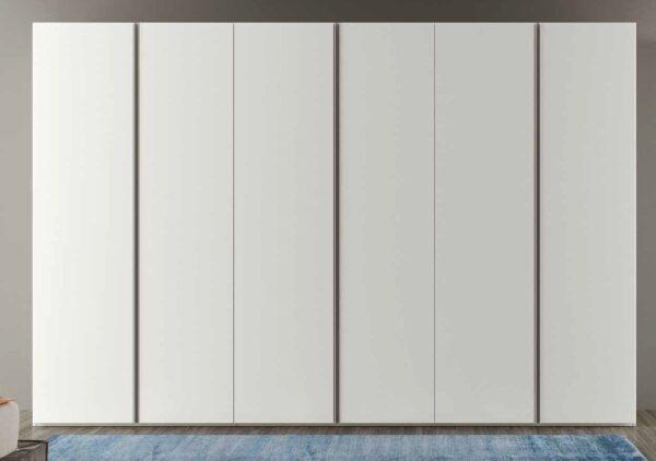 armadio Laccato Bianco opaco 6 ante mobilificio torino e rivoli