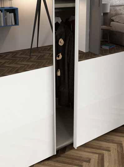 ante armadio scorrevole laccato bianco mobilificio torino e rivoli
