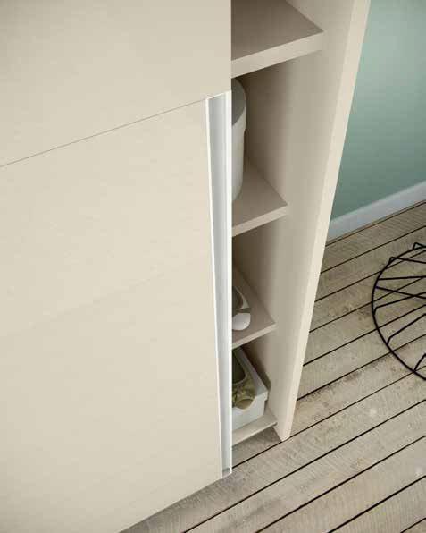 armadio bianco e orzo aperto mobilificio torino e rivoli