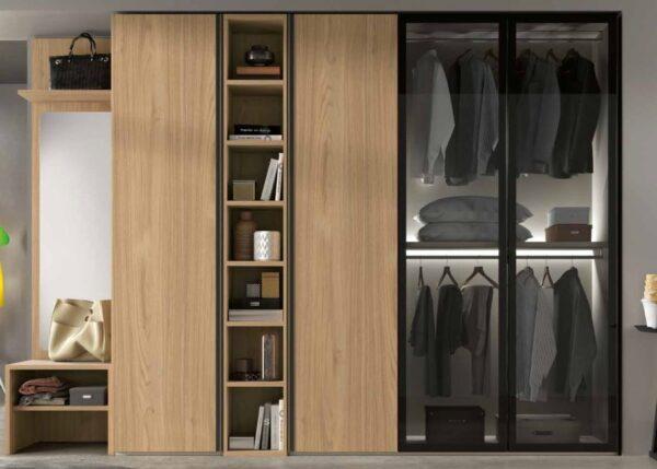 armadio 4 ante e specchio mobilificio torino e rivoli