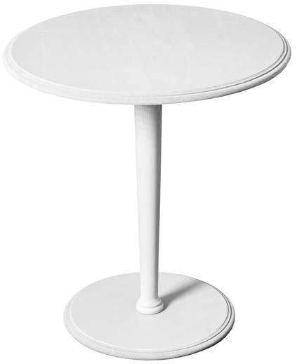 tavolino circolare bianco mobilificio torino e rivoli