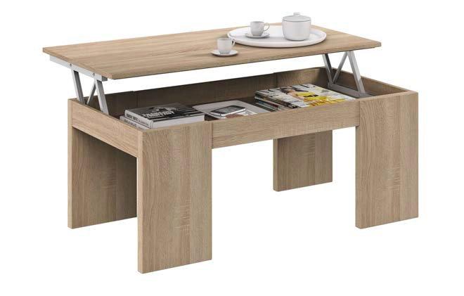 tavolino con contenitore aperto mobilificio torino e rivoli