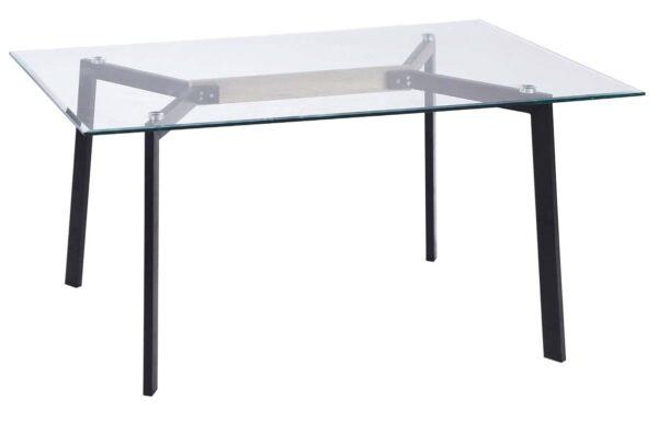 tavolo con piano in vetro mobilificio torino e rivoli