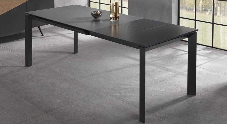 tavolo allungabile nero mobilificio torino e rivoli