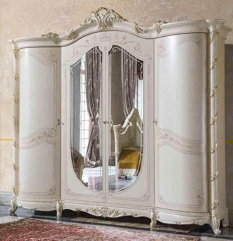 armadio 4 ante con specchi mobilificio torino e rivoli