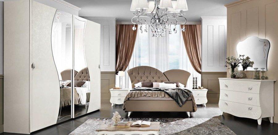 camera da letto con armadio comò e comodino mobilificio torino e rivoli