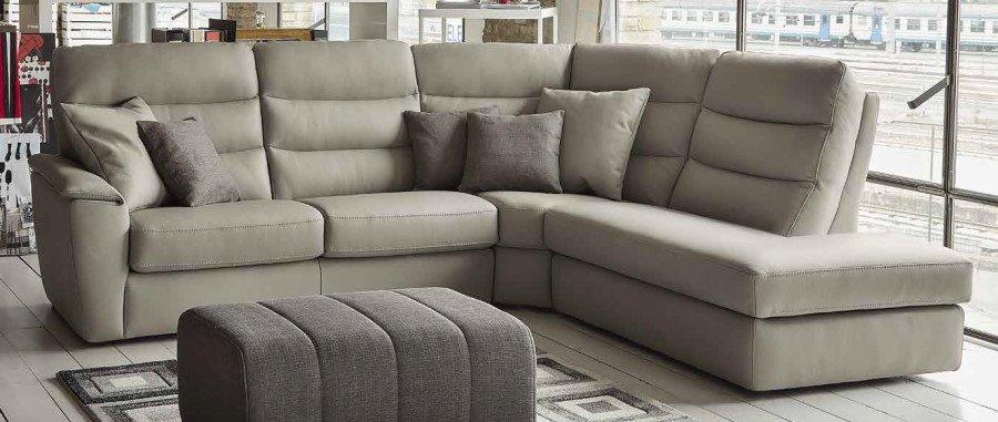 divano con penisola e angolo tondo mobilificio torino e rivoli
