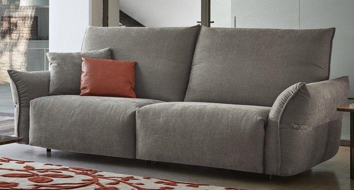 divano 2 posti grigio mobilificio torino e rivoli