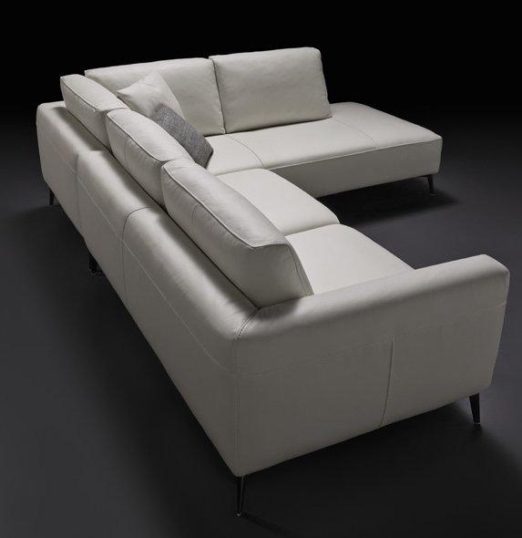 divano con penisola bianco mobilificio torino e rivoli