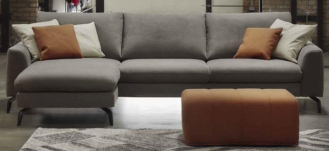 divano ad angolo grigio mobilificio torino e rivoli