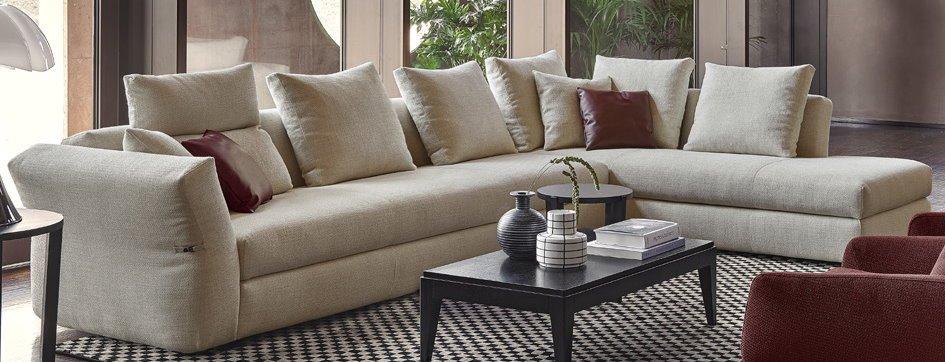 divano angolare beige mobilificio torino e rivoli