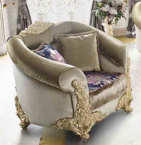 poltrona con intarsi in oro mobilificio torino e rivoli