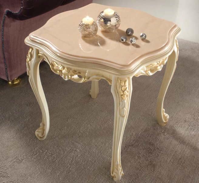 tavolino beige intarsiato mobilificio torino e rivoli