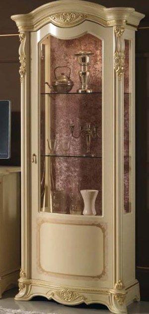 vetrina beige 1 porta 2 ripiani mobilificio torino e rivoli