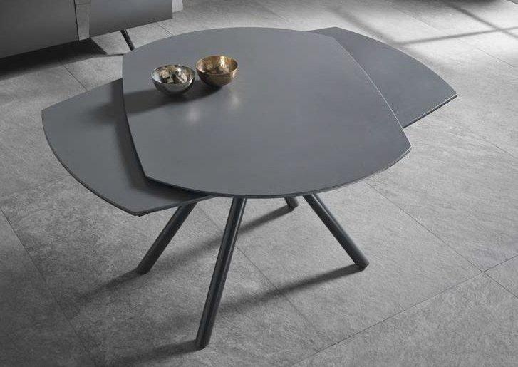 tavolo allungabile grigio mobilificio torino e rivoli