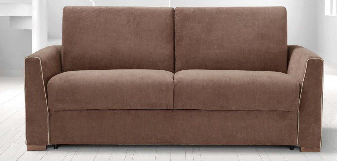 divano letto marrone 3 posti mobilificio torino e rivoli