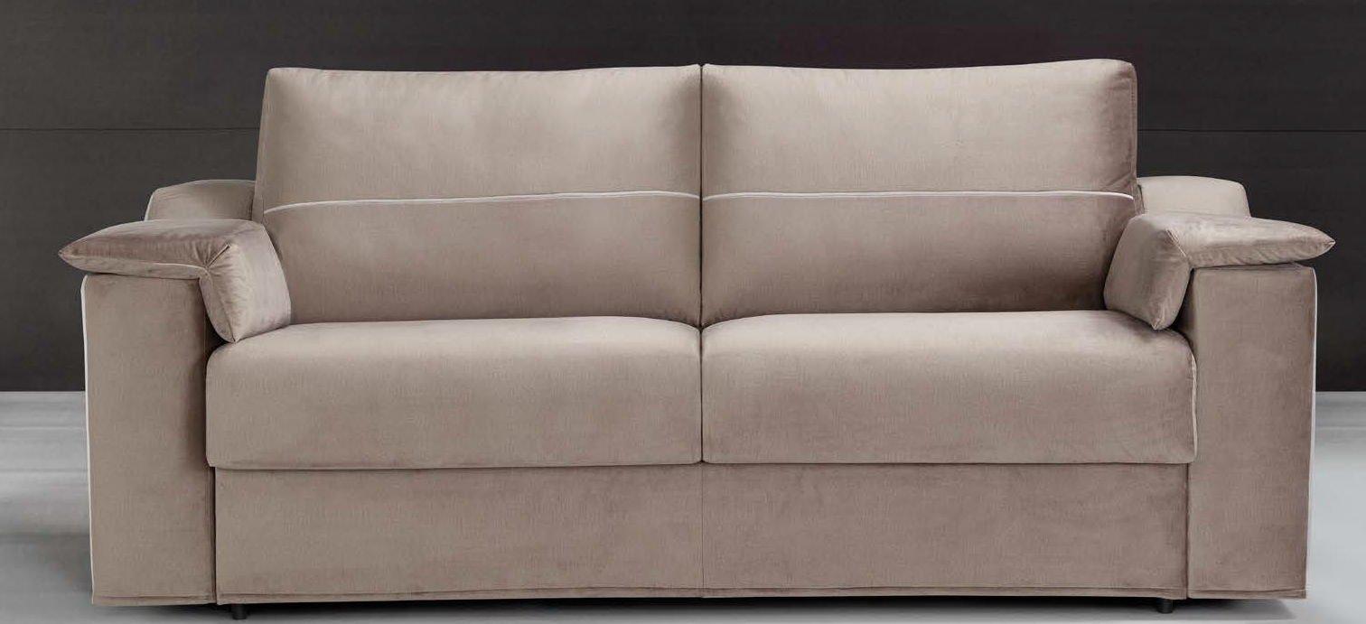 divano letto marrone mobilificio torino e rivoli