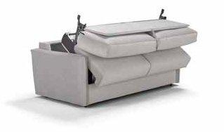 divano letto avorio semiaperto mobilificio torino e rivoli