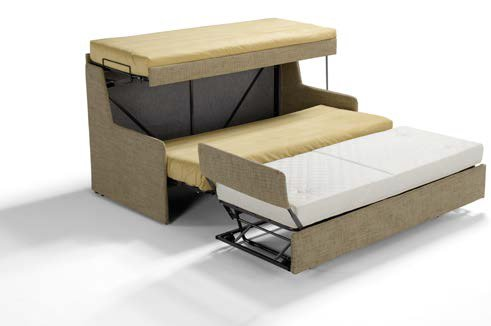divano letto a 3 letti semi aperto mobilificio torino e rivoli