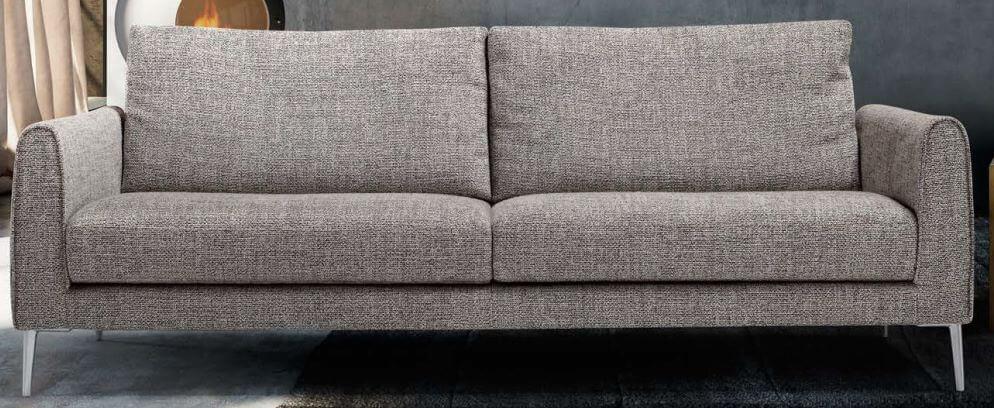 divano fisso grigio albert mobilificio torino e rivoli