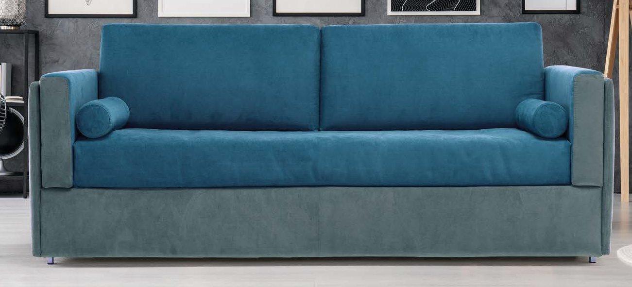 divano letto bicolore castello mobilificio torino e rivoli