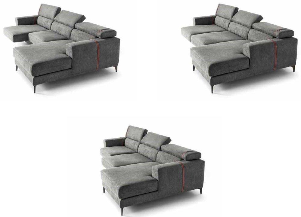 divano grigio con diversi movimenti mobilificio torino e rivoli