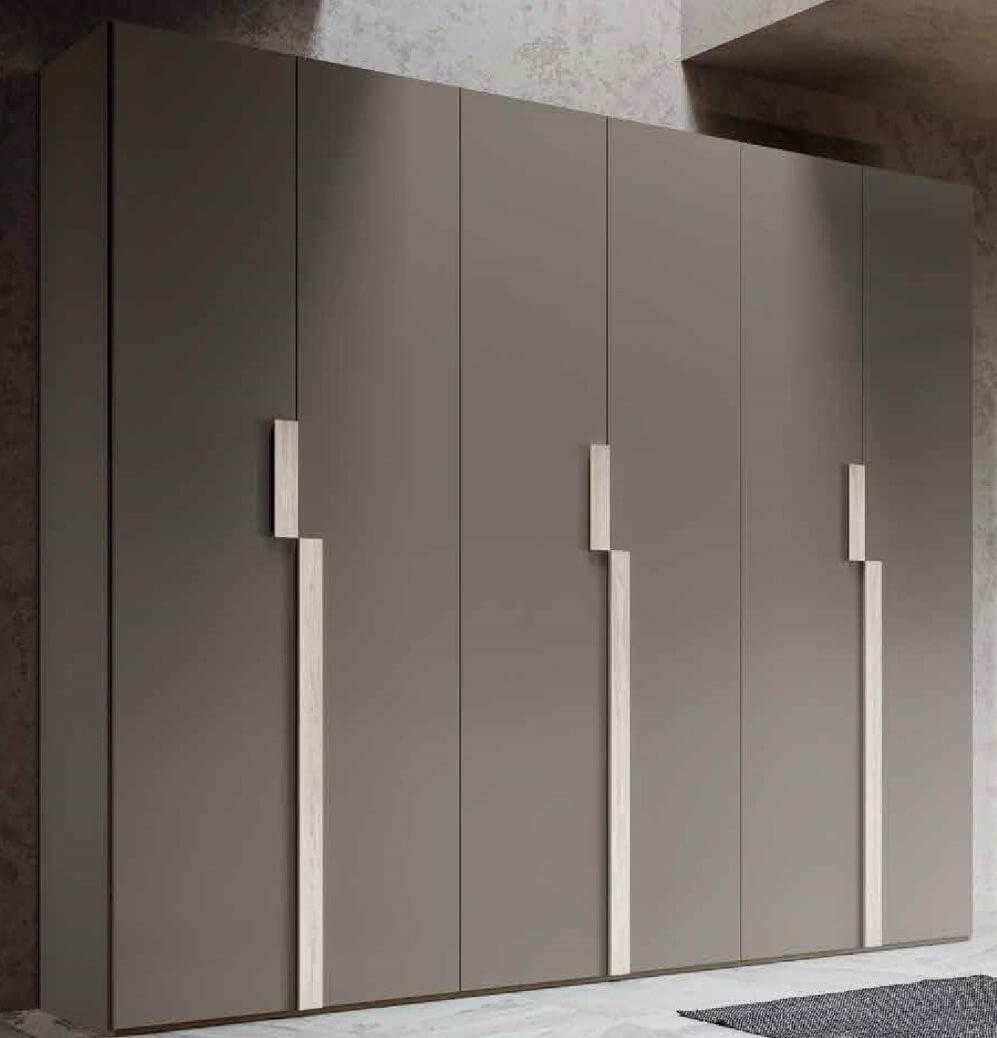 armadio 3 ante battenti grigio mobilificio torino e rivoli