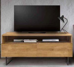 porta tv in frassino gambe metallo mobilificio torino e rivoli