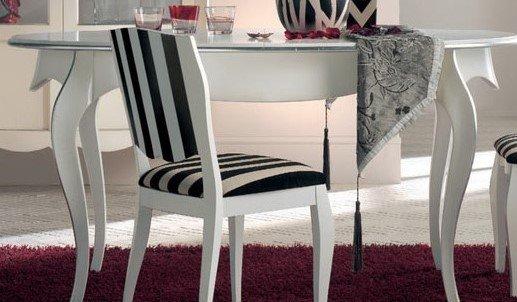 tavolo ovale bianco arredamenti divani torino
