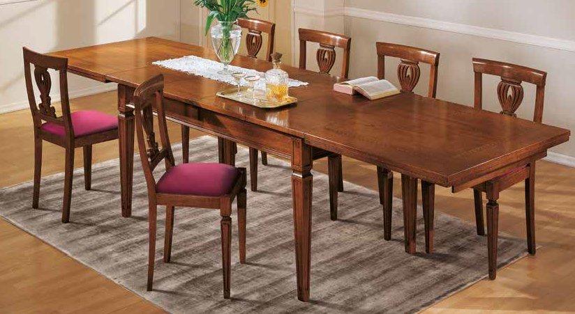 tavolo rettangolare allungabile mobilificio torino e rivoli