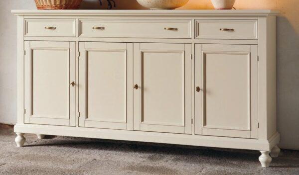 credenza 4 porte 3 cassetti color sabbia mobilificio torino e rivoli