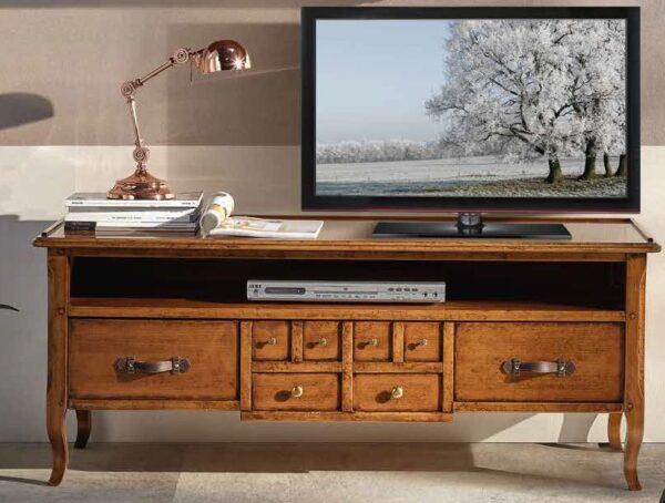 porta tv con cassetto e con un vano mobilificio torino e rivoli
